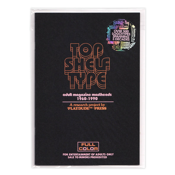 Top Shelf Type Zine