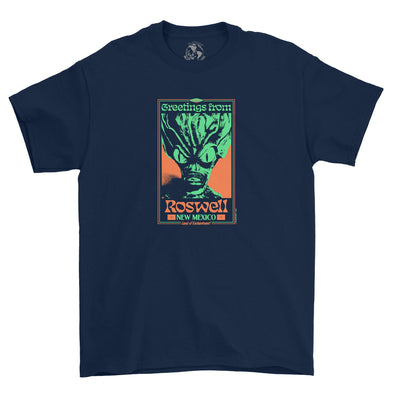 Roswell Tee (Navy)