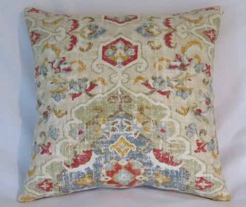 "Covington Jaipur Pillow Cover 17"" Square"