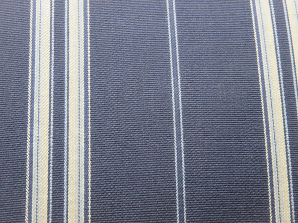 navy blue white nautical ticking stripe pillow cover