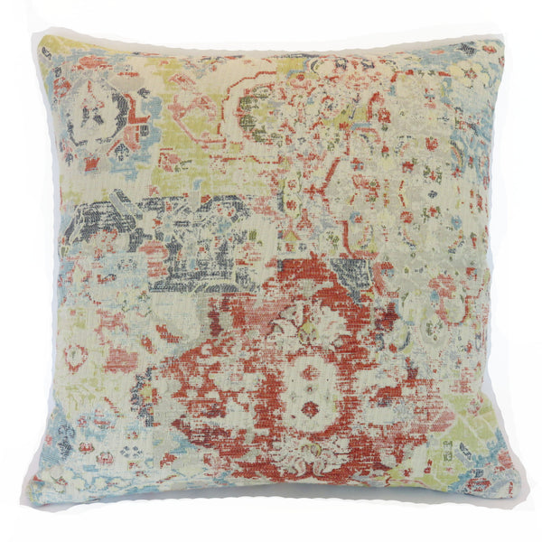alcan apricot distressed pillow cover