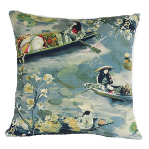 bangkok blue pillow cover regal floating