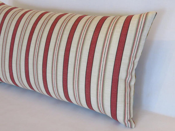 waverly general store stripe lumbar pillow