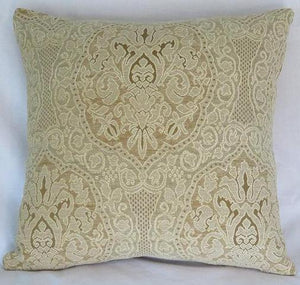lace texture chenille pillow