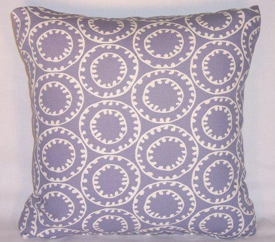 purple ring a bell pillow