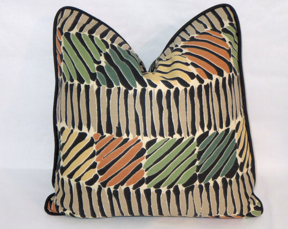 Tropical Weave Pillow Cover