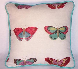 colorful butterfly pillow