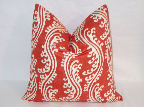 turning tides pillow