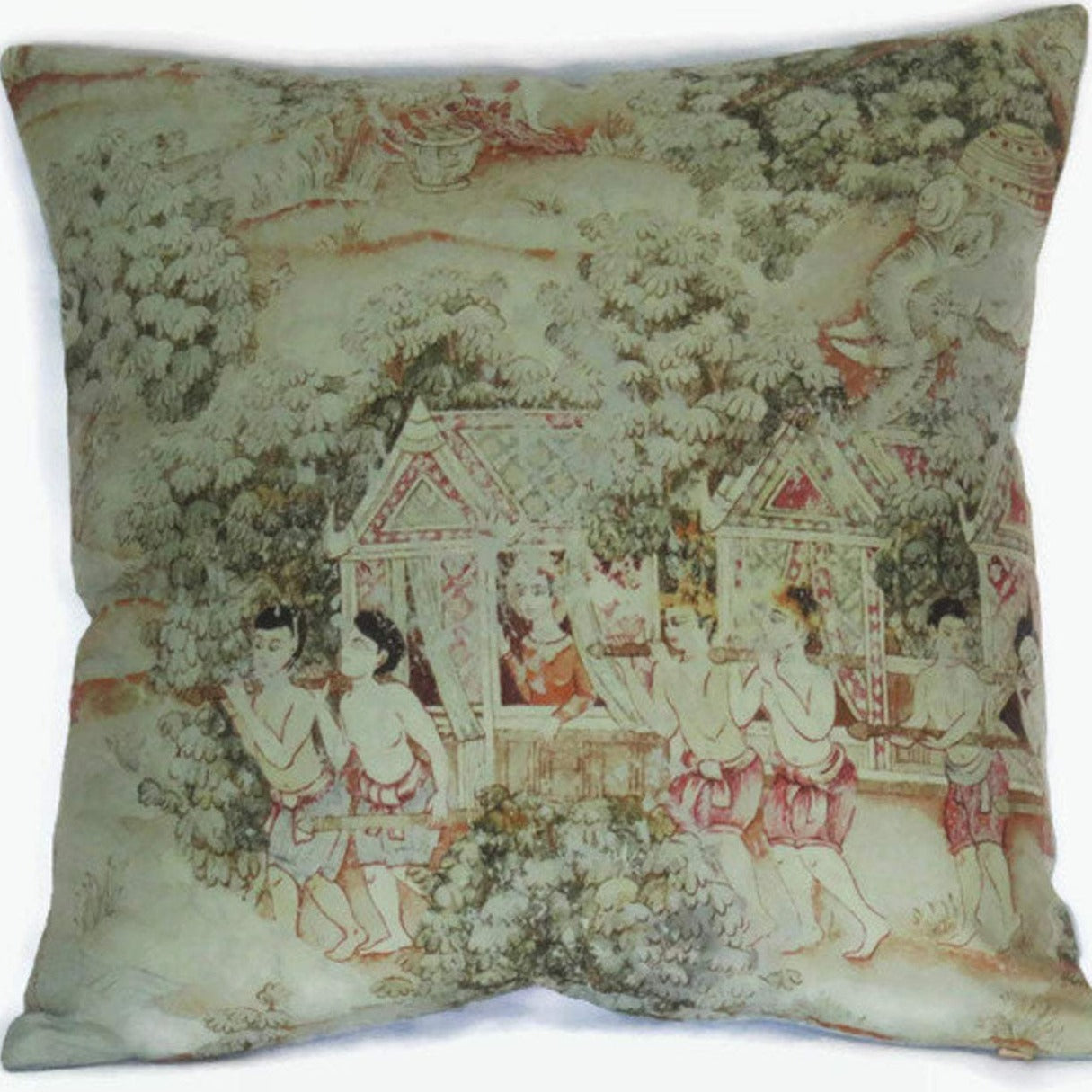 jims dream procession pillow cover