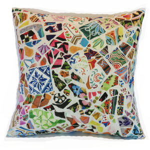 Lacefield gaudi mosaic punch pillow