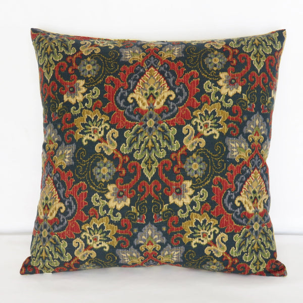 Saison de Printemps Saffron Yellow Chicken Toile Pillow Cover
