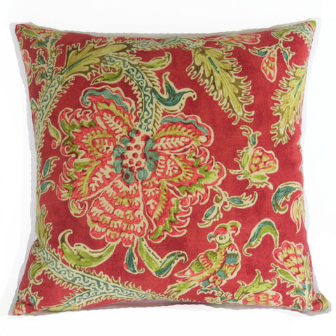 waverly holi festival pillow cover in jewel
