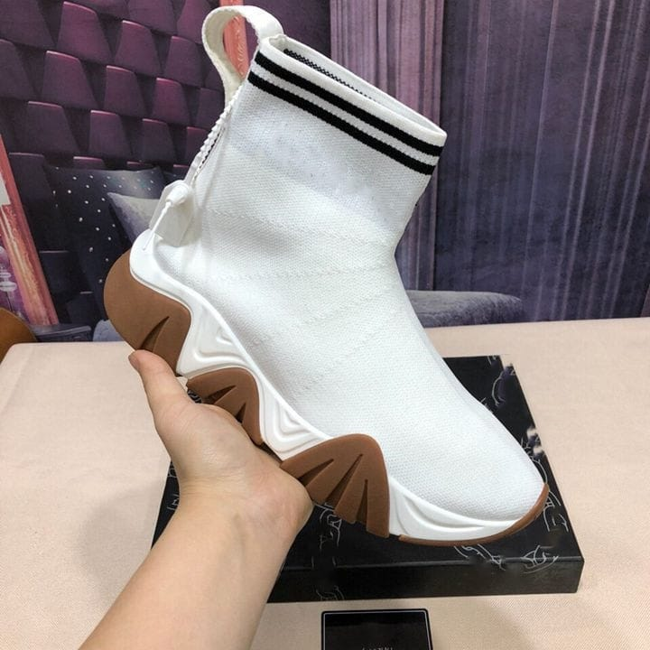 Fashionable New Men's BootsCouple Models Sock boots Fashion