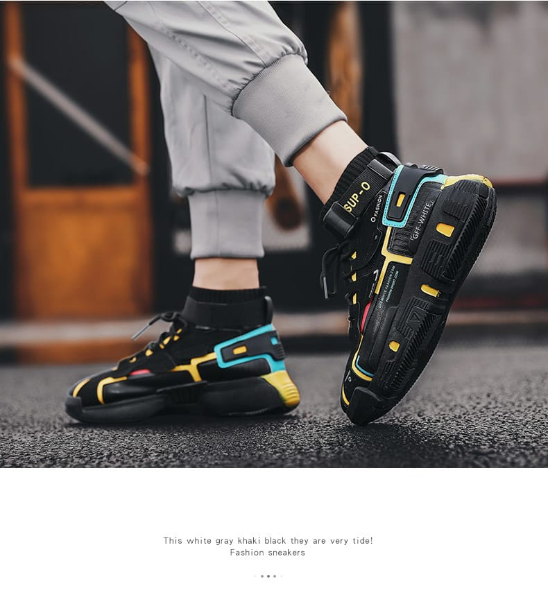 2020 New High top Outdoor Leisure Shoes Male Footwear