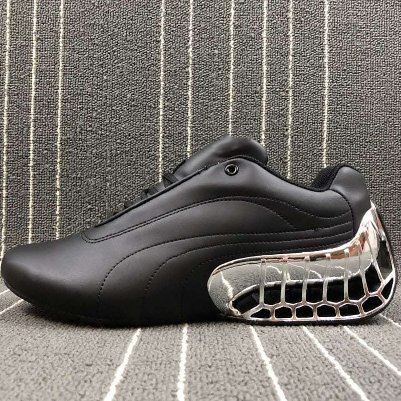 Outdoor casual jogging men running shoes genuine leather