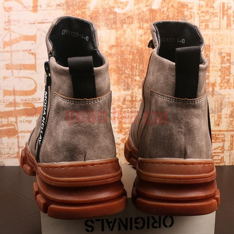 NEW Brand designer High quality leather loafers men shoe