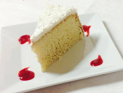 Coconut Tres Leches Slice
