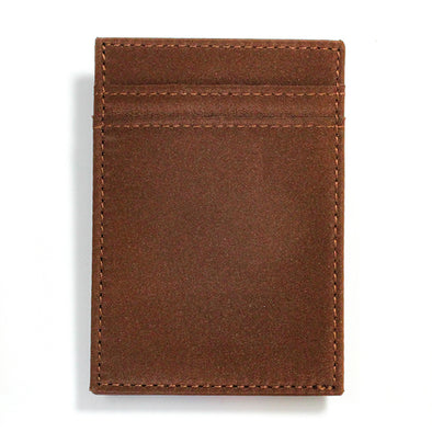 Brown Microfiber Wallet