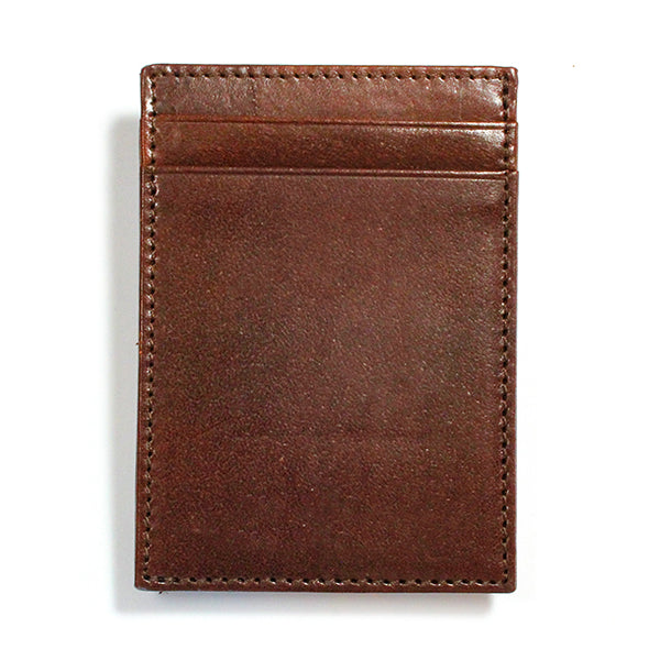 Italian Brown Leather Wallet with Extra Capacity