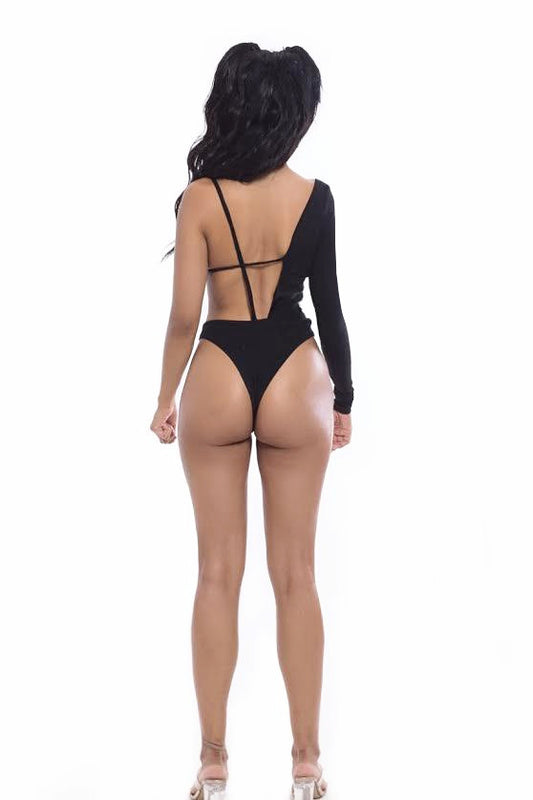 VOL 1: Hot & Cold Bodysuit Black