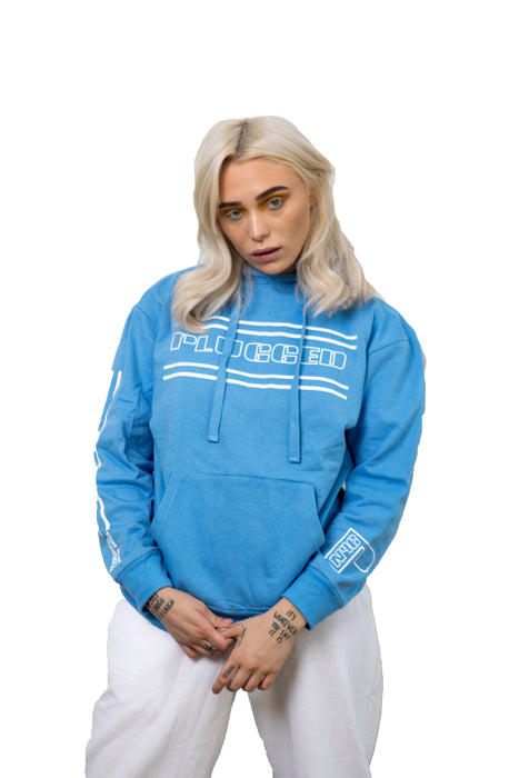 Blue Plugged Nation Hoodie