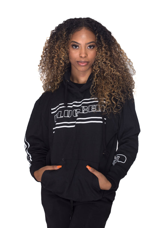 Black Plugged Nation Hoodie