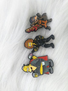 Star Lotto Springfield Endgame Pin Badge with Magnetic Mask!