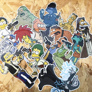Molda x Springfield Wars Sticker