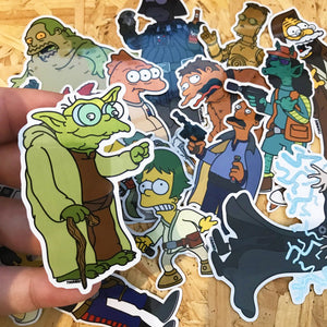 General Blinkbaar x Springfield Wars Sticker