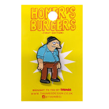 Tarney x Homerr's Burgers Pin Badge