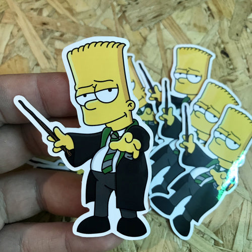 Barto Malfoy Hogfield Sticker