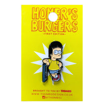 Bene x Homerr's Burgers Pin Badge