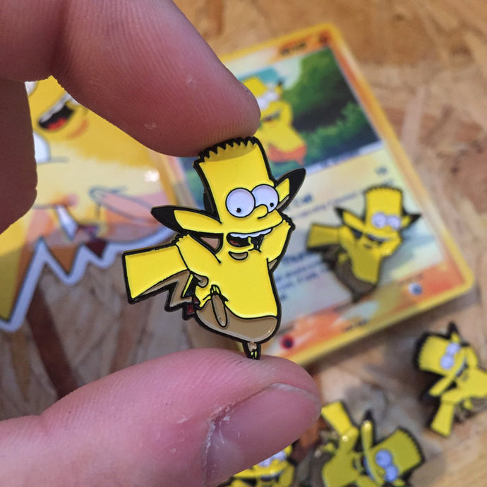 Pikabart Pin, Sticker and Trading Card