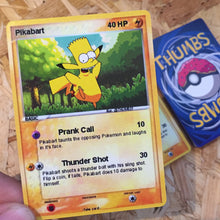 Pikabart Trading Card