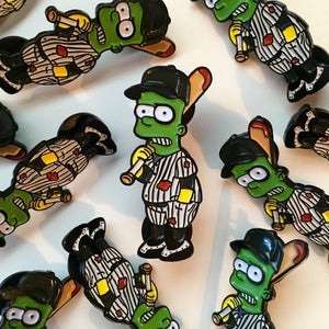 Bort Furies Pin Badge