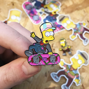 Barty McFly Pin Badge Set