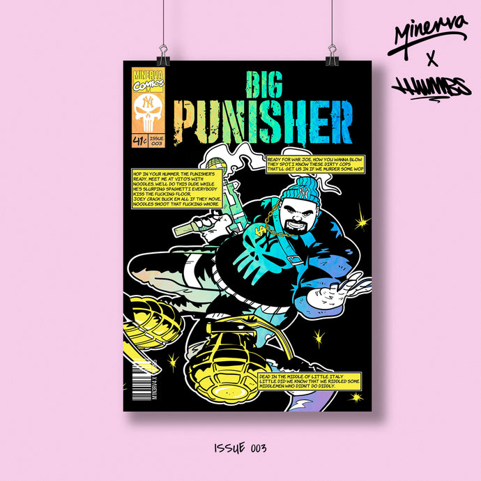 Big Punisher Holo Foil Limited Edition Art Print