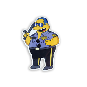 Chief Boss Man x Springfield Mania Sticker