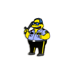 Chief Boss Man x Springfield Mania Hard Enamel Pin Badge