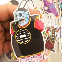 Comic Book Kai DBZ Pin Badge