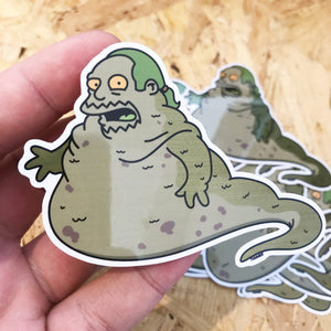 Comic Book Hutt Springfield Wars Pin