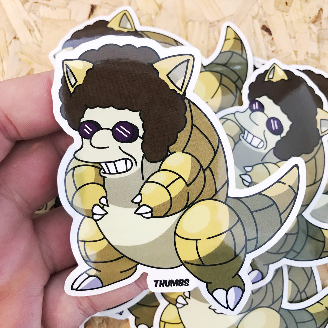Disco Shrew Sticker