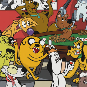 Dogs Playing Poker Limited Edition Art Print