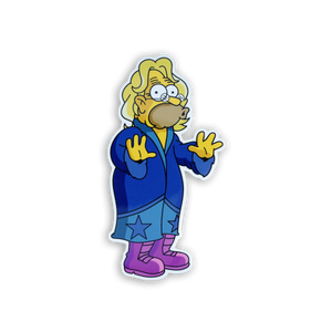 Grandpa Flair x Springfield Mania Hard Enamel Pin Badge
