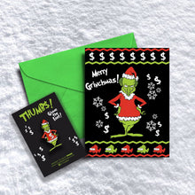 Merry Grinchmas Xmas Card