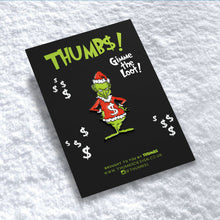 Grinchmas Pin Badge