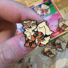 Arcanwillie Pin, Sticker and Trading Card