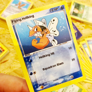 Flying Hellking Trading Card