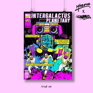 Intergalactus Holo Foil Limited Edition Art Print