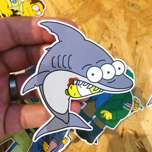 Jaws x Jawsfield Pin Badge